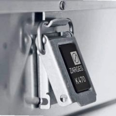 Zarges K470 40848 Alumiinilaatikko (1.350x400x220mm)