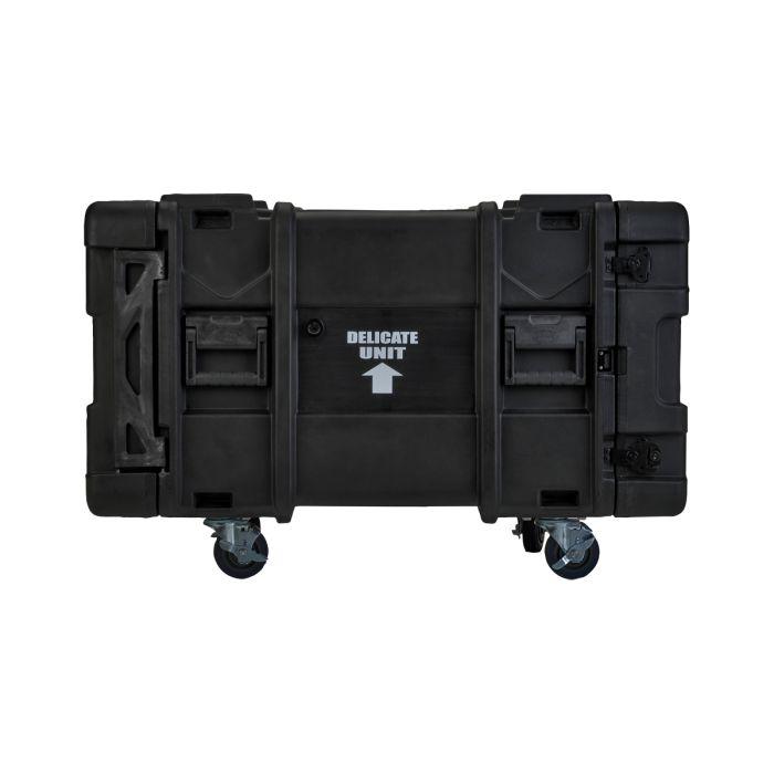 SKB 8U Roto Shockmount Rack Case, 4 Wheel - 28