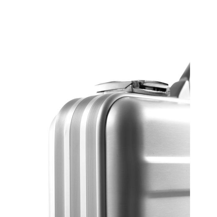 Premium Alumiinisalkku Pieni, Pehmusteella (390x290x80mm)