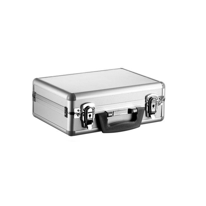 Alumiinisalkku Lightcase PB 2 pehmusteella (320x230x105mm)