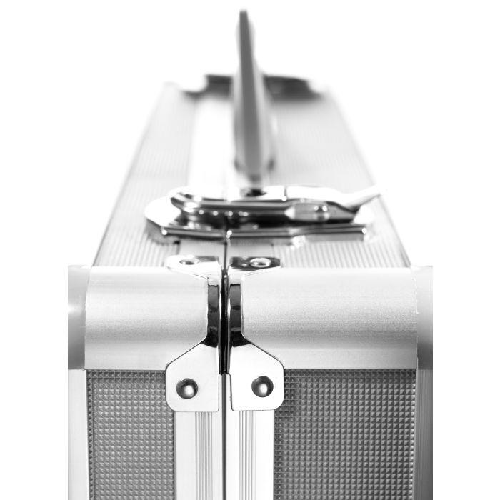 Alumiinisalkku Lightcase PB 8 pehmusteella (500x420x240mm)