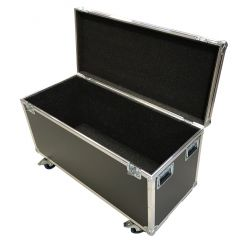 Flightcase Pro 1200 (1.200x500x550mm)-Pehmusteella