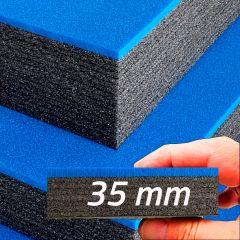 Monikerroksinen Cut & Peel solumuovipehmuste (800x450x70mm)