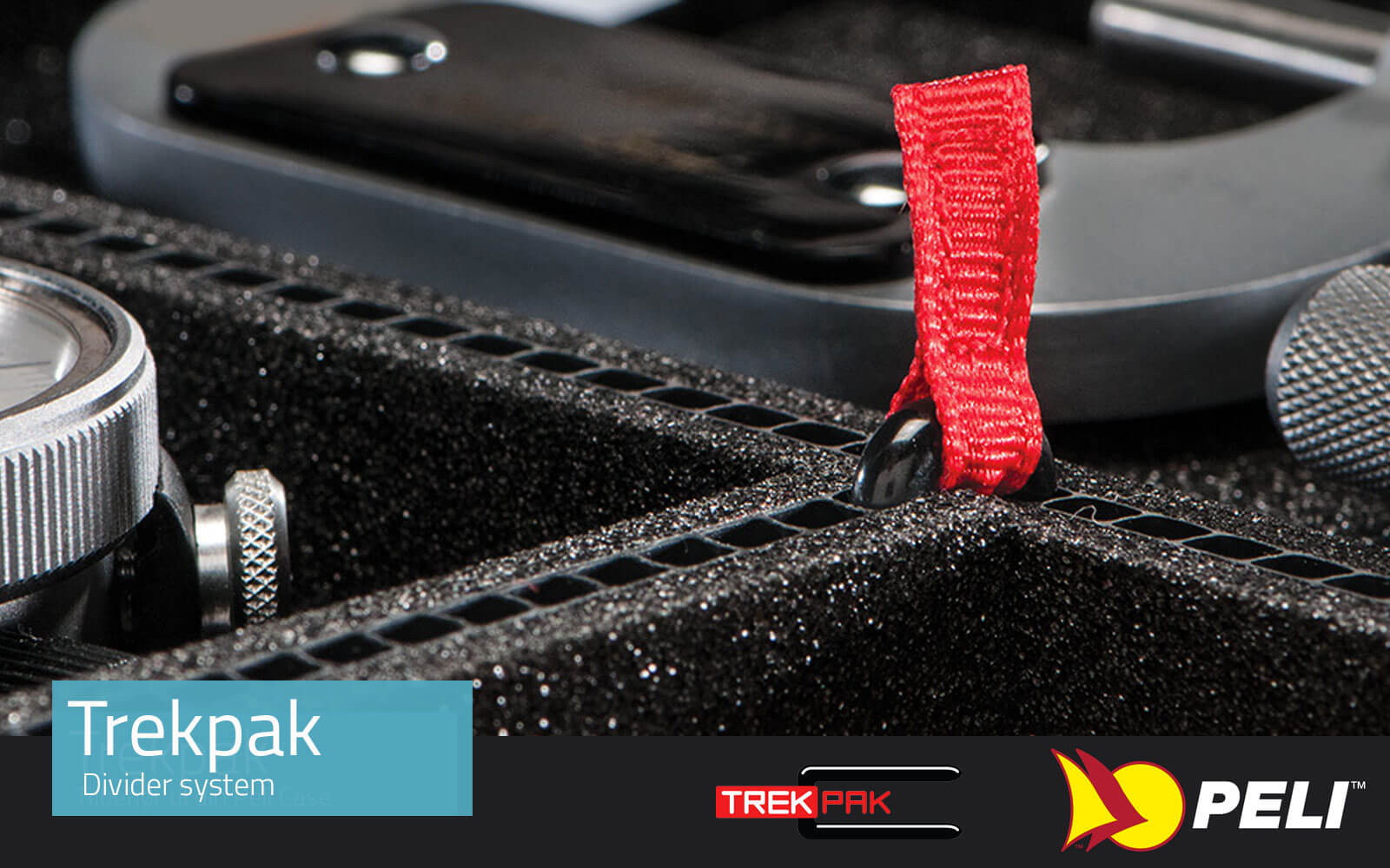 TrekPak for your Peli Cases