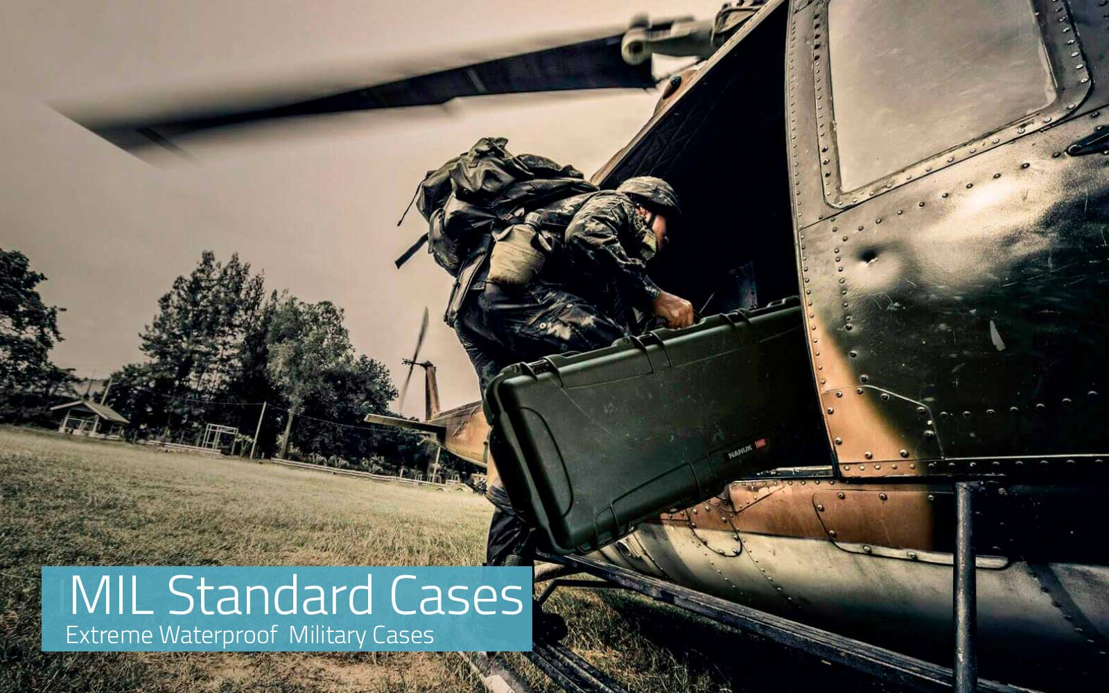 Military Waterproof Cases